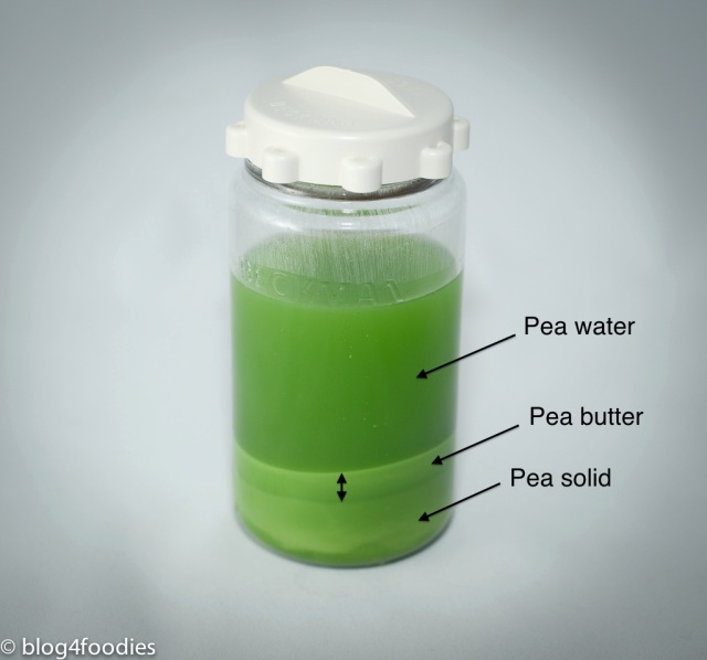 4 - pea after centrifuge