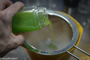 5 - discard pea water