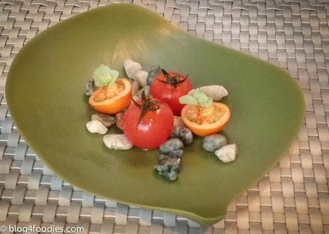 Tomato in vinegar Tomato in dry vinegar