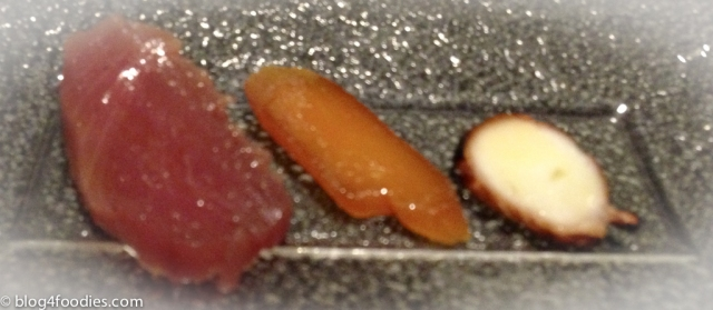 Bonito, Mullet, and Dry Octopus