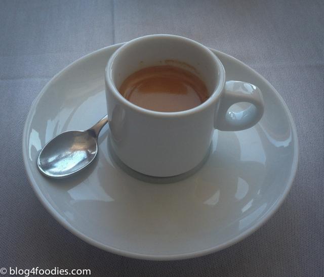 A final coffee...