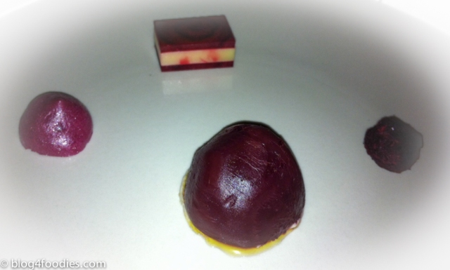 Beetroot in four different ways