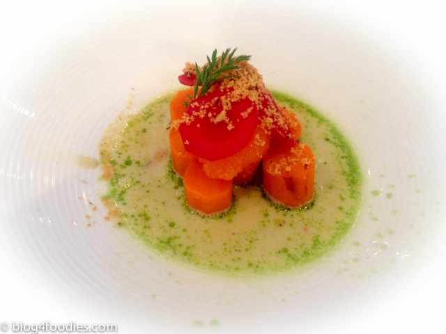 Carrots - Kalix bleak roe, mussels, sunflower seeds: