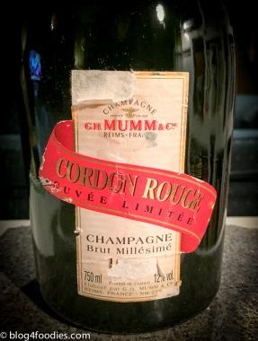 Mumm Cordon Rouge Cuvée Limitée Brut 1990