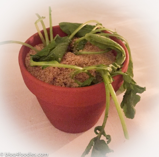 Radishes in a pot
