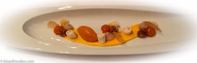 Banana, sea buckthorn & saffron