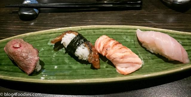Sushi - serving #1