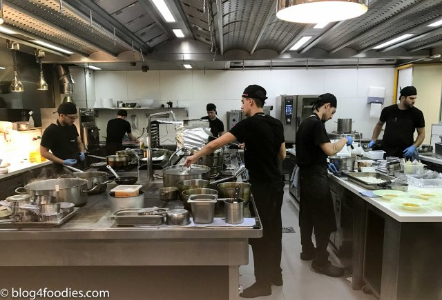 DiverXO kitchen