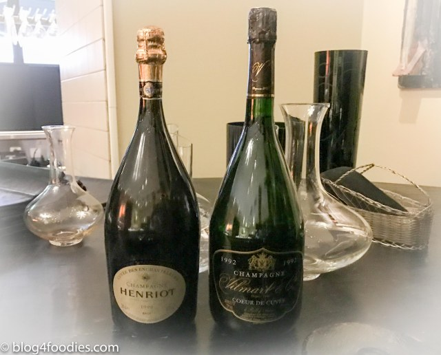 Vilmart Champagne Coeur De Cuvée and Henriot Cuvée des Enchanteleurs (both on Magnum)